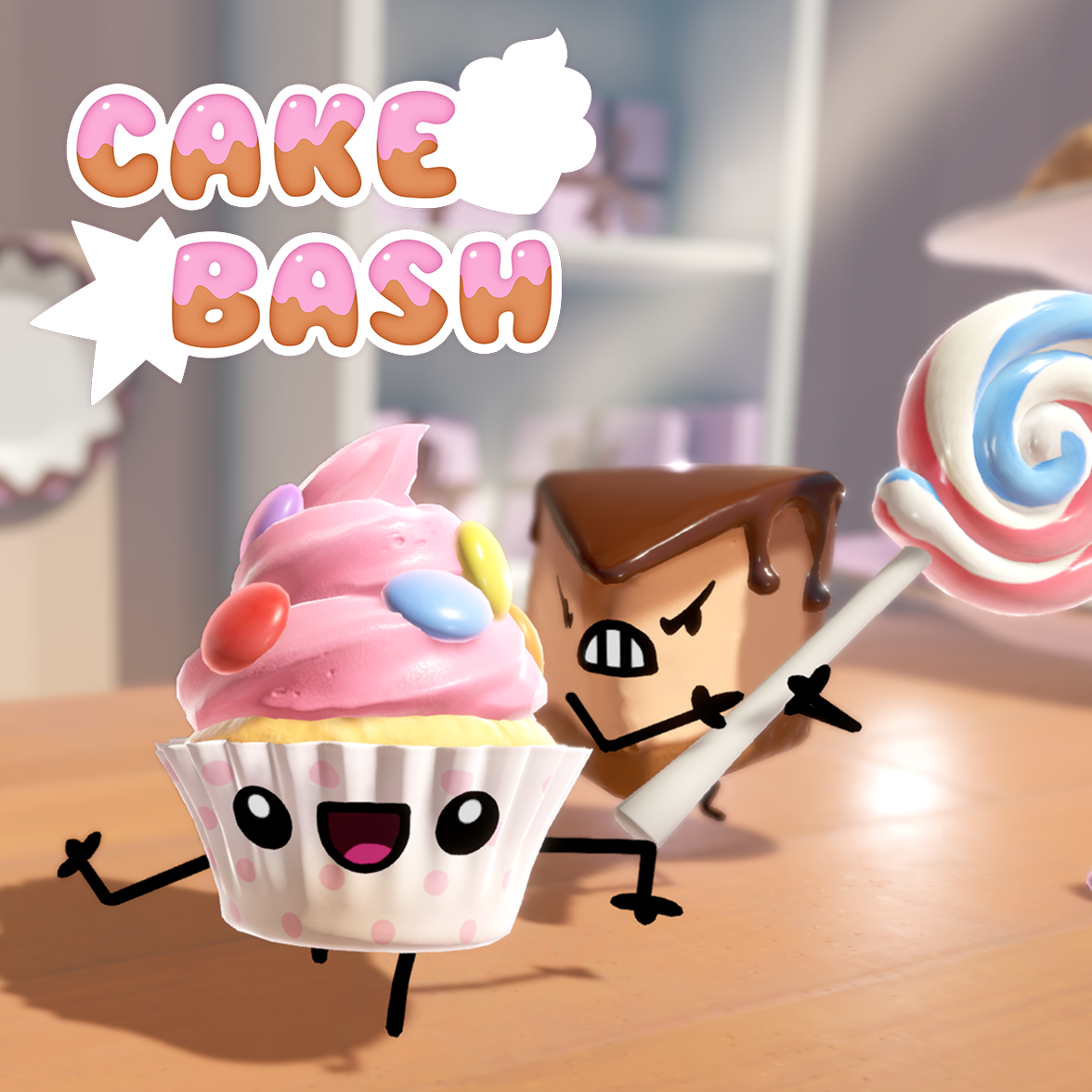 Cake Bash Game Cover